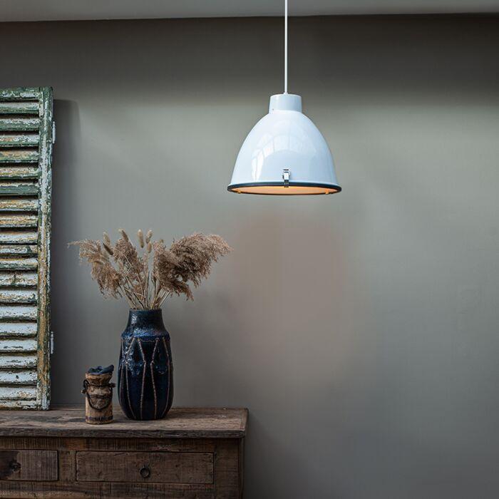 Industriële-hanglamp-wit-38-cm-dimbaar---Anteros