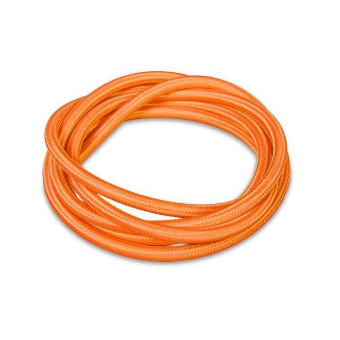 Stoffen-kabel-1-meter-oranje