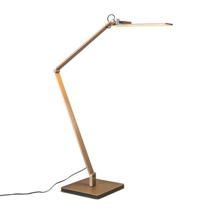 Tafellamp-Libro-rosé-goud