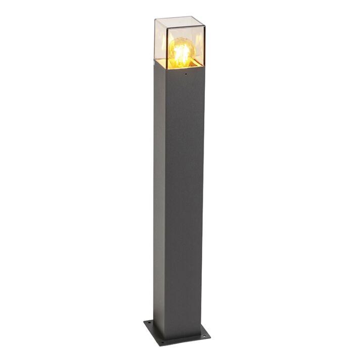 Moderne-staande-buitenlamp-70-cm-antraciet-IP44---Denmark