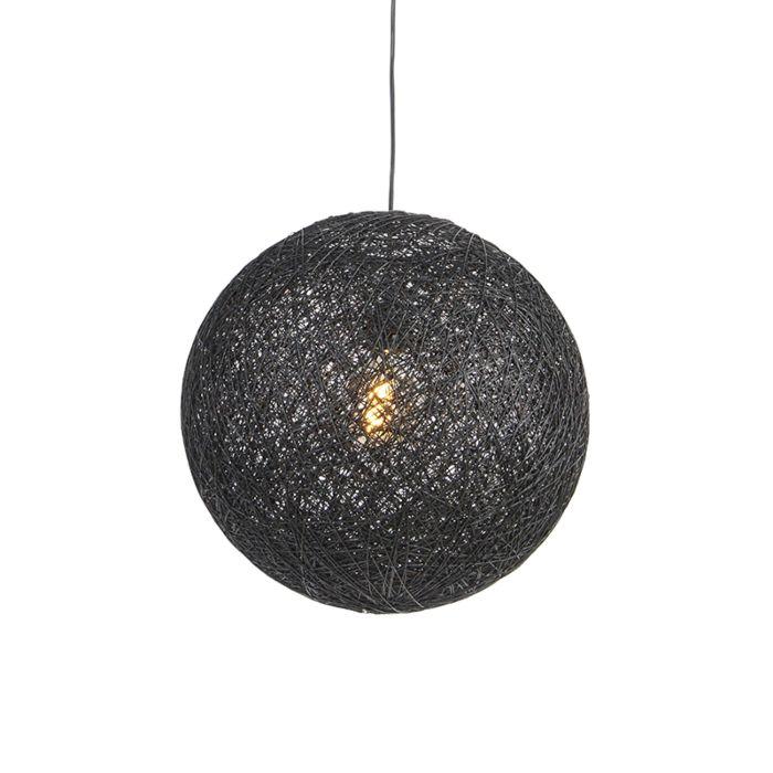 Hanglamp-zwart-45-cm---Corda