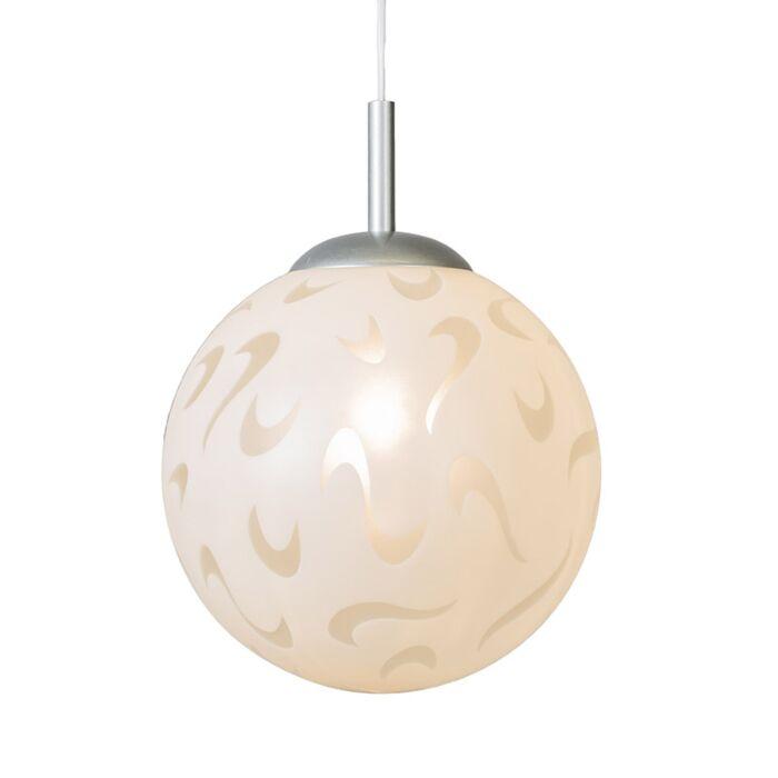 Hanglamp-Earth-wit-decorglas
