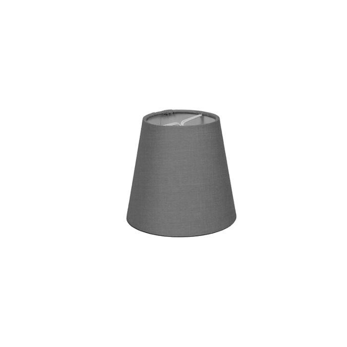 Klemkap-12cm-rond-SC-grijs
