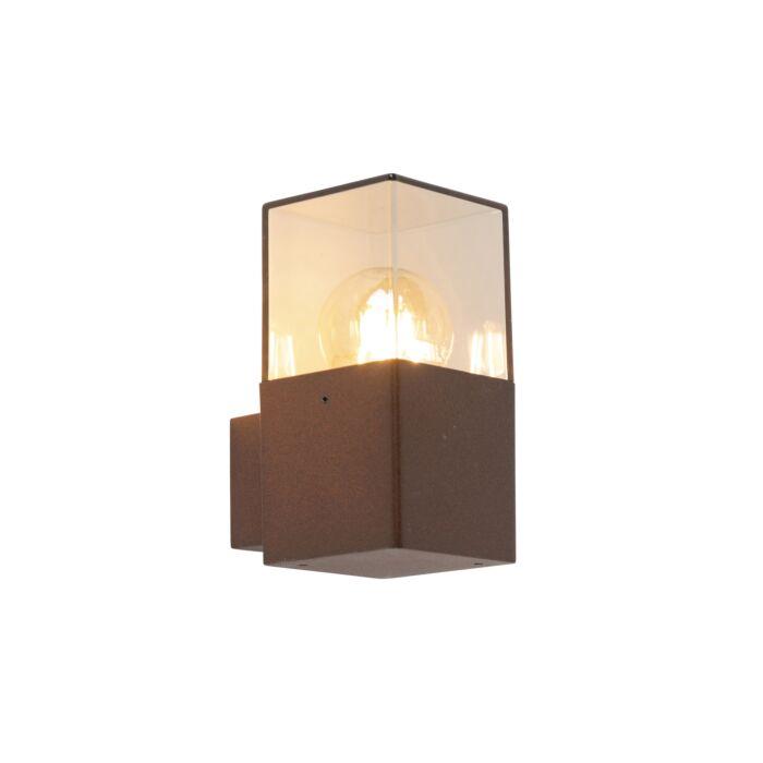 Industriële-buitenwandlamp-roestbruin-IP44---Denmark