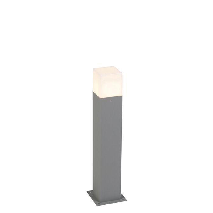 Moderne-staande-buitenlamp-50-cm-grijs-IP44---Denmark