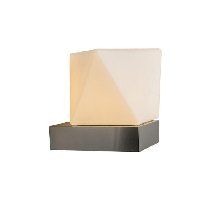 Wandlamp-Tumba-roestvrij-staal