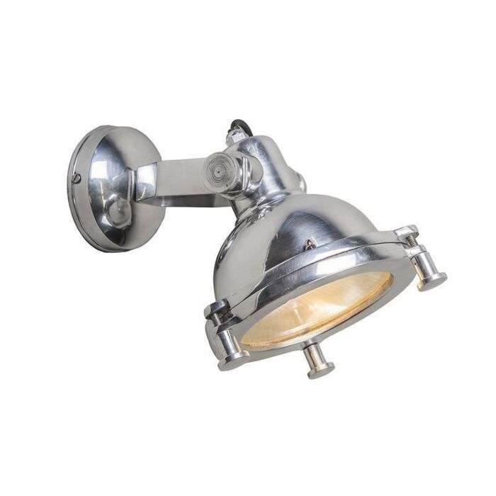 Wandlamp-Raw-I-chroom