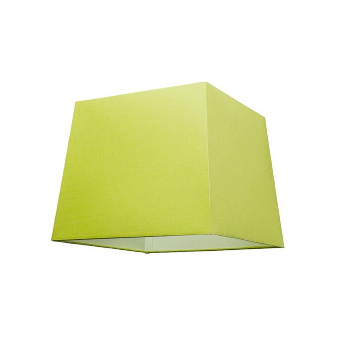 Kap-30cm-vierkant-SU-E27-groen
