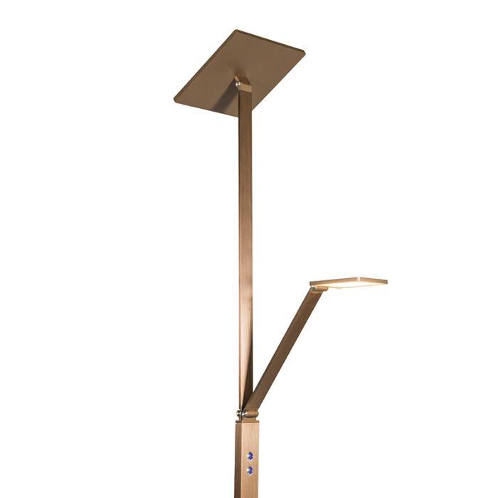 Vloerlamp-Giornale-rosé-goud