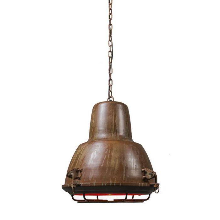 Hanglamp-Petrol-II-roest