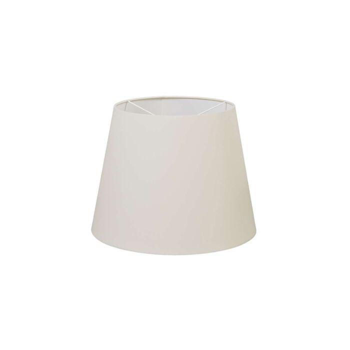 Polyester-hang-lampenkap-creme-wit-35/27,5