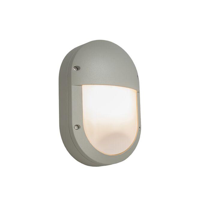 Wandlamp-Glow-ovaal-2-lichtgrijs