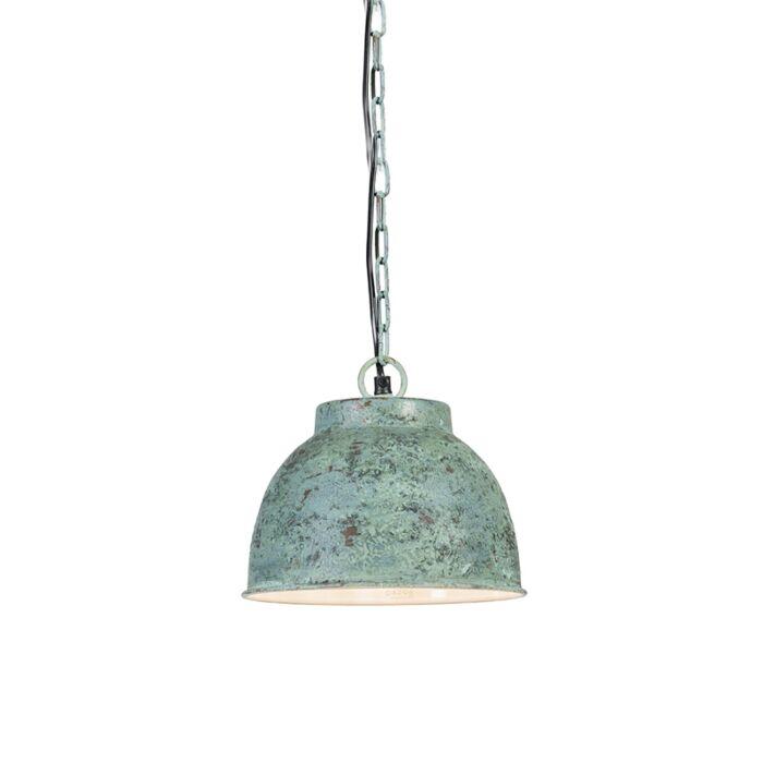 Hanglamp-Vintage-S-antiek-groen