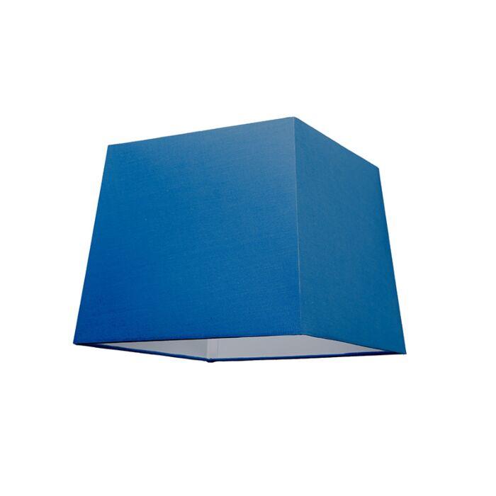 Kap-30cm-vierkant-SU-E27-blauw