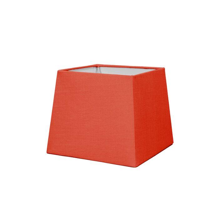 Kap-18cm-vierkant-SD-E27-rood