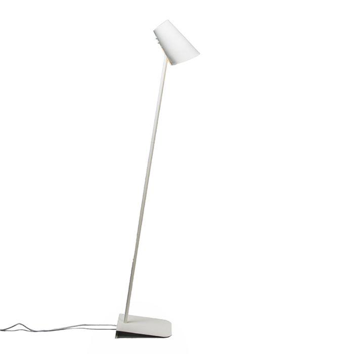 Vloerlamp-Straight-wit