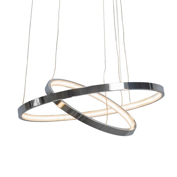 Hanglamp-Halo-chroom