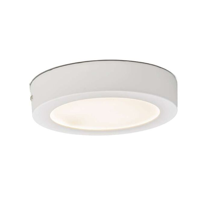 Plafonniere-Plate-12W-LED-rond-wit