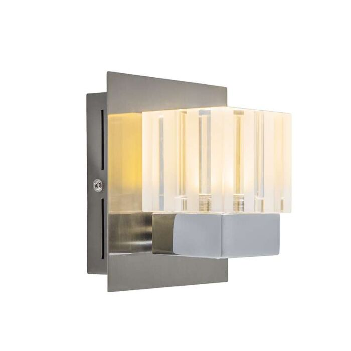 Wandlamp-Dice-1-LED-chroom