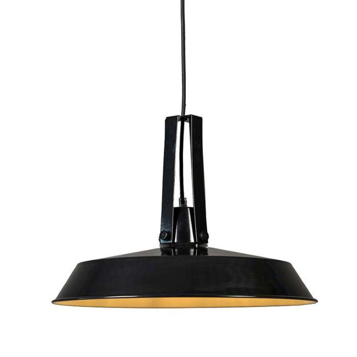 Hanglamp-Living-40cm-zwart