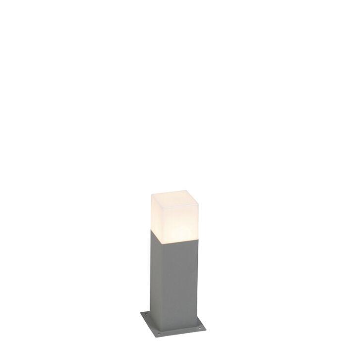 Moderne-staande-buitenlamp-30-cm-grijs-IP44---Denmark