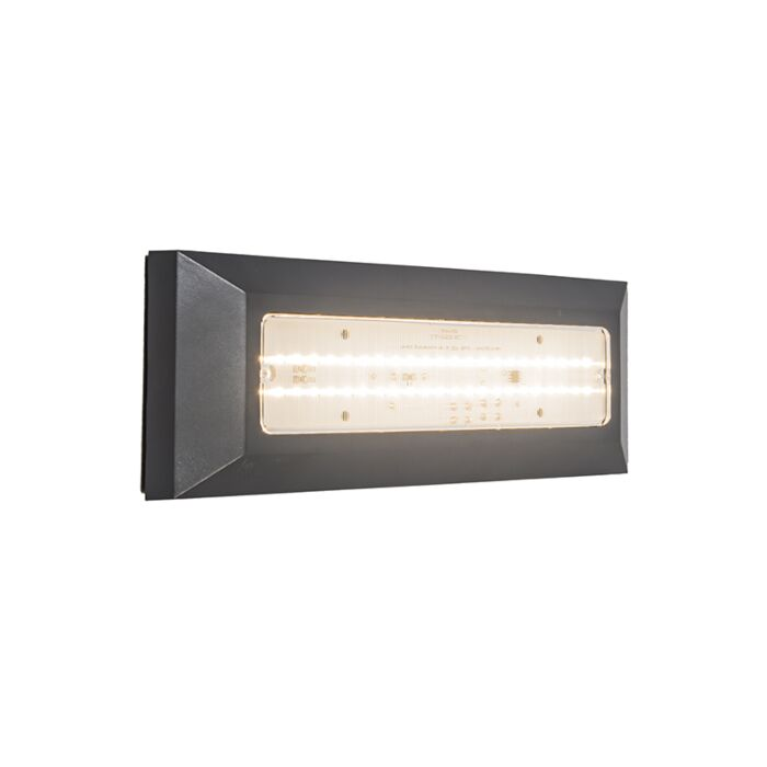 Wandlamp-Brick-donkergrijs