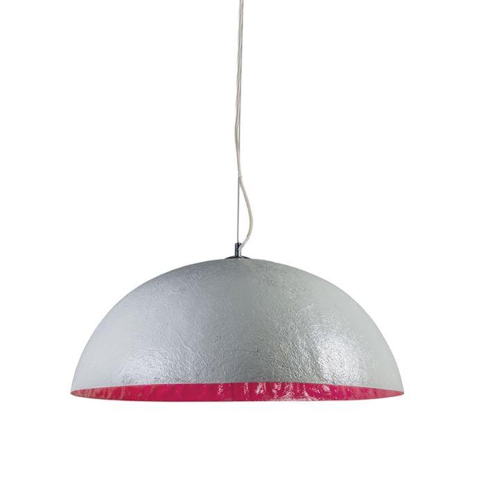 Hanglamp-Magna-70-grijs---roze