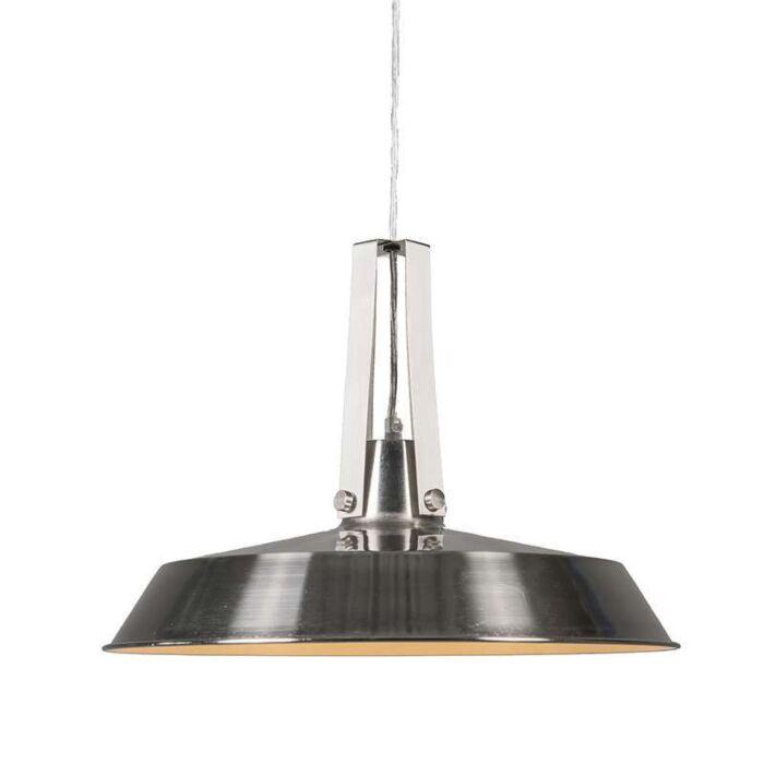 Hanglamp-Living-40cm-staal