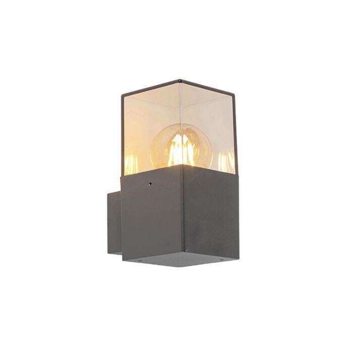 Moderne-buitenwandlamp-antraciet-IP44---Denmark