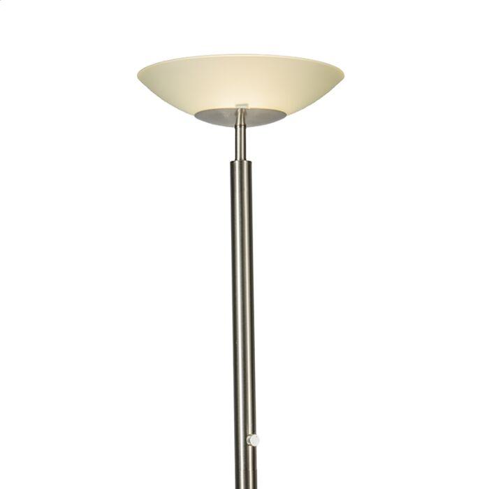 Vloerlamp-Uplight-Pisa-staal
