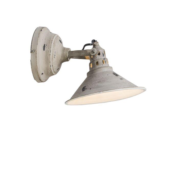 Wandlamp-Rust-verweerd-grijs