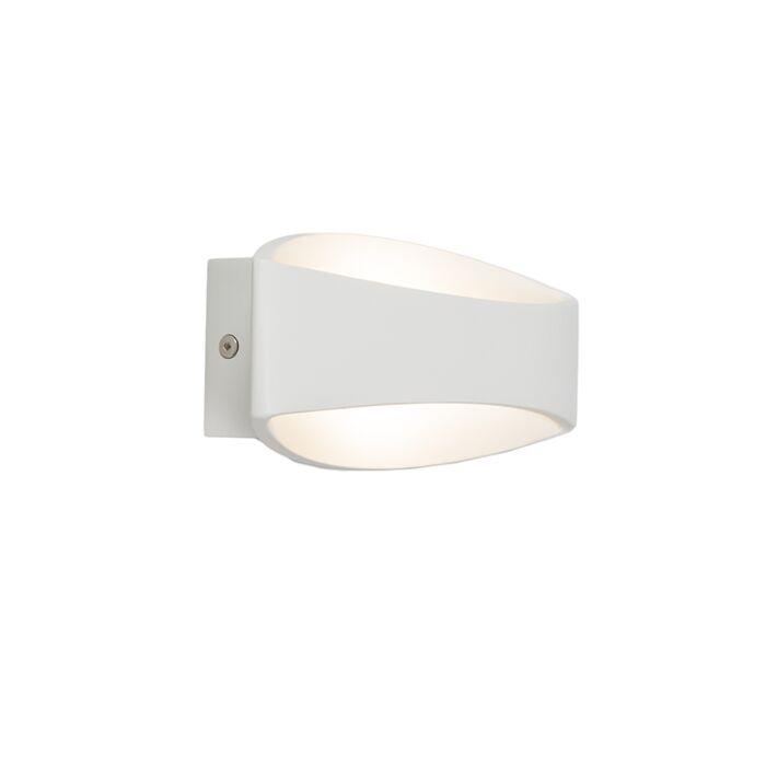 Wandlamp-Satellite-LED-wit