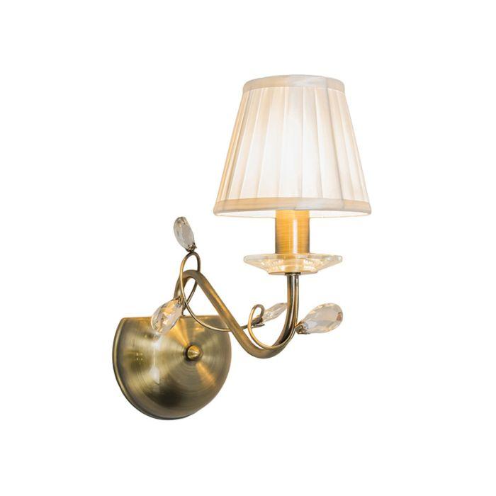 Wandlamp-Ruffle-1-antiek-brons