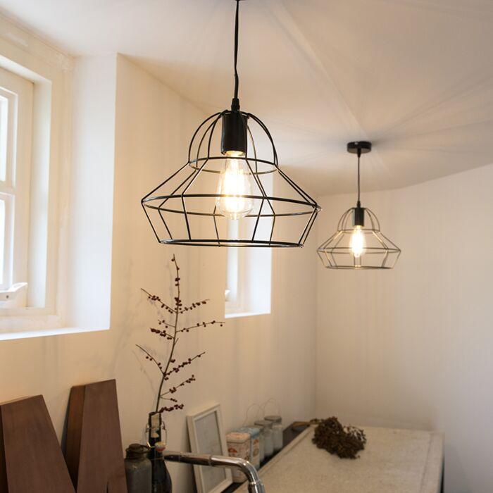 Hanglamp-Frame-D-zwart