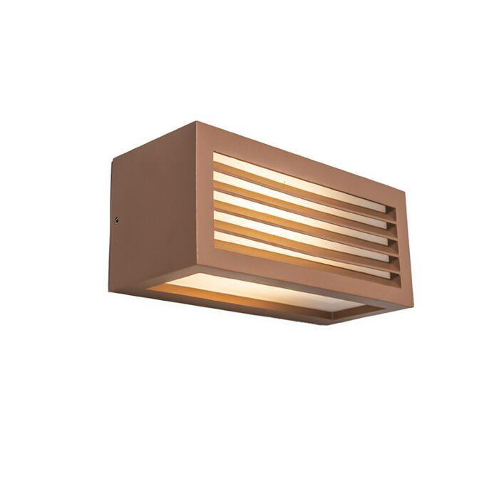 Wandlamp-Angle-3-roestbruin