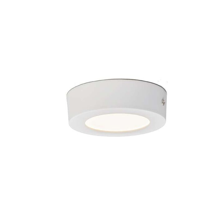 Plafonniere-Plate-6W-LED-rond-wit