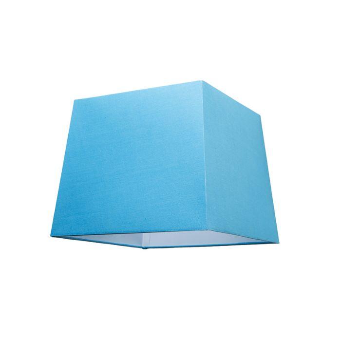 Kap-30cm-vierkant-SU-E27-lichtblauw