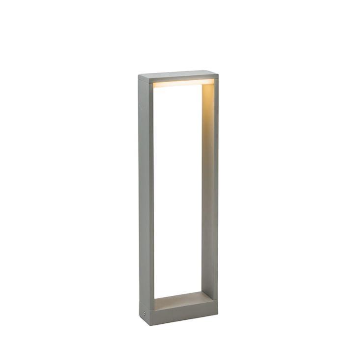 Buitenlamp-Frame-50-LED-zilvergrijs