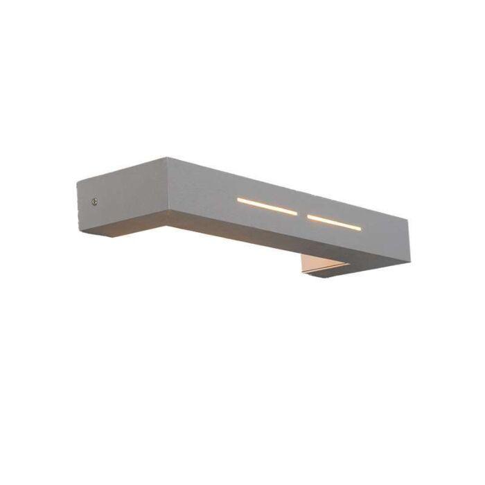 Wandlamp-Megan-aluminium