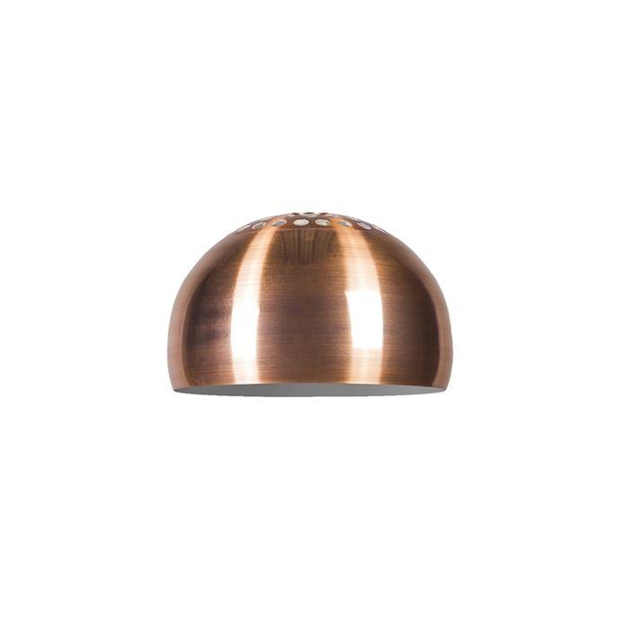Kap-Globe-33cm-mat-koper
