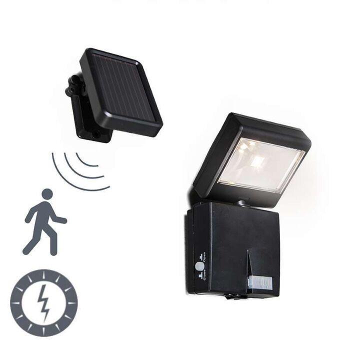 Buitenlamp-Dark-straler-LED-met-bewegingsmelder-werkt-op-zonne-energie