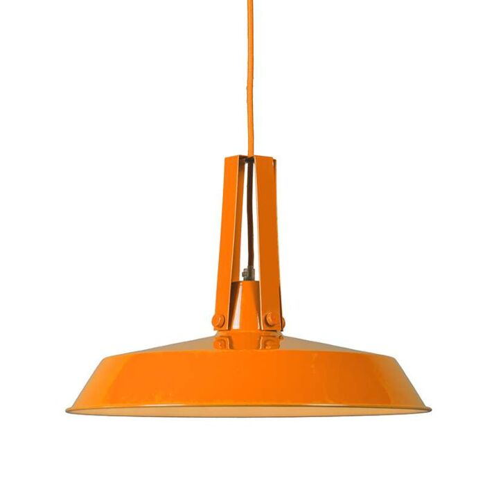Hanglamp-Living-40cm-oranje