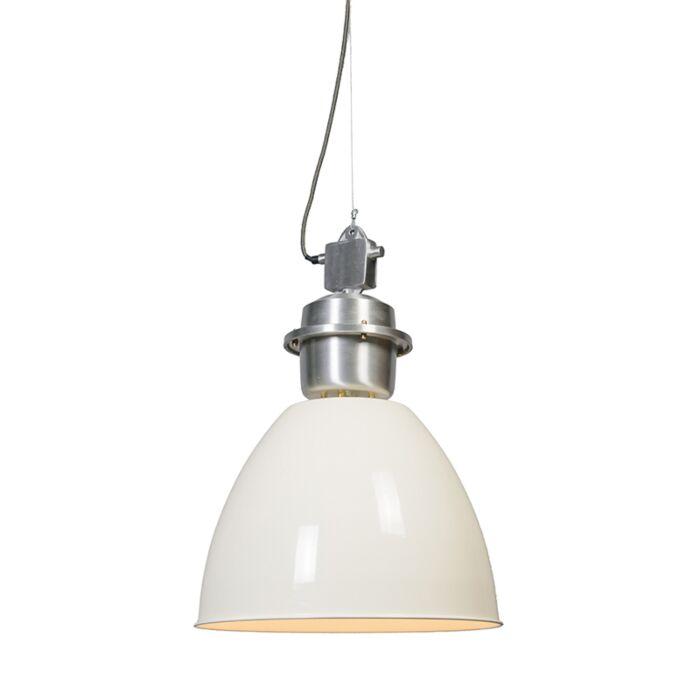 Hanglamp-Dazzle-creme-wit