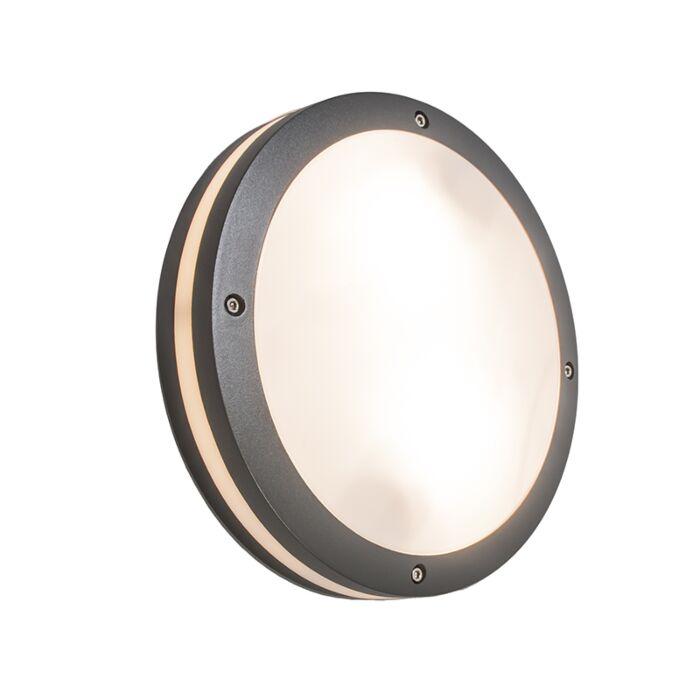 Wand--en-plafondlamp-antraciet-IP54---Glow