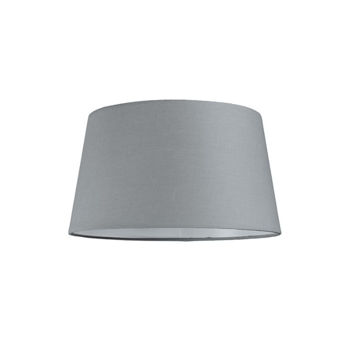 Kap-30cm-rond-SU-E27-grijs