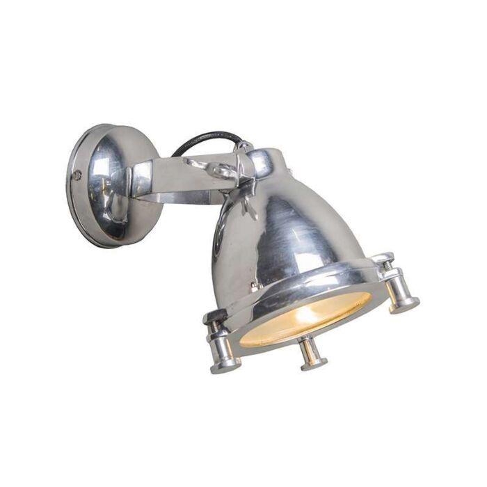 Wandlamp-Raw-II-chroom