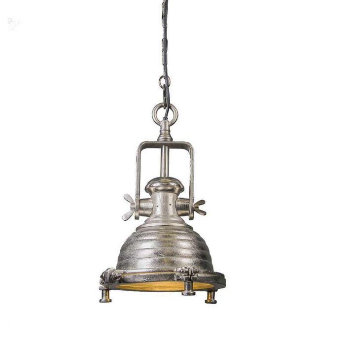 Hanglamp-Fort-Raw-S-nikkel