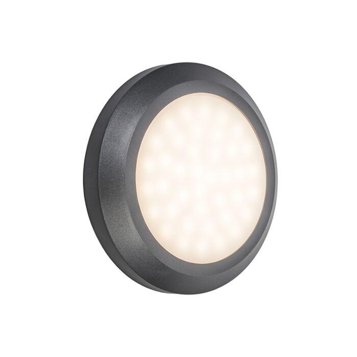 Wandlamp-Daystar-donkergrijs