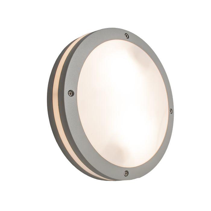 Wandlamp-Glow-rond-lichtgrijs