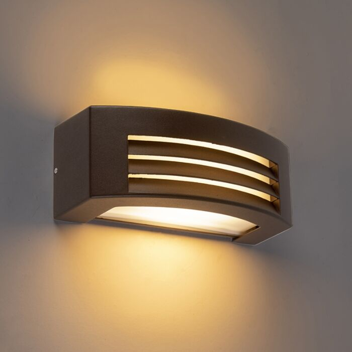 Moderne-wandlamp-roestbruin-IP44---Hurricane-1